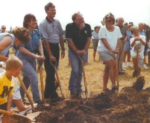 2001 | Groundbreaking Ceremony